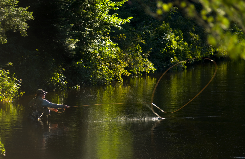 Poconos lakefront homes and properties for sale for Adirondack fly fishing